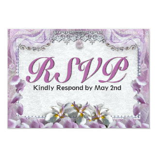 Orchid Deam RSVP Card