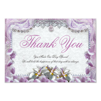 Orchid Deam Thank You Card