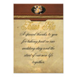 Orchid - Dendrobium Orchid 5x7 Paper Invitation Card