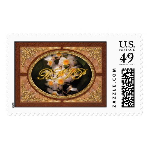 Orchid - Dendrobium Orchid Postage Stamps