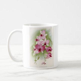 Orchid - Dendrobium Phalaenopsis Classic White Coffee Mug