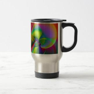 Orchid digital created by Tutti Travel Mug