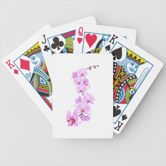 Orchid-Dragon Bicycle Playing Cards