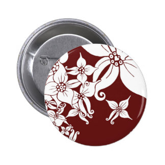 Orchid Dream Button (on red)