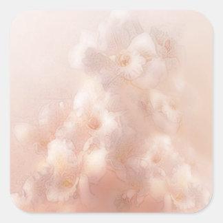 Orchid dreams 1a square stickers