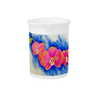 Orchid Dreams Drink Pitchers