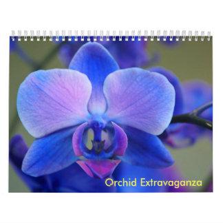 Orchid Extravaganza Calendar