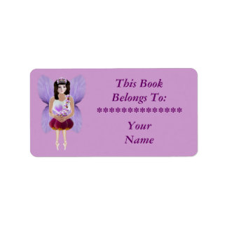 Orchid Fairy Label