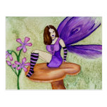 Orchid Fairy Postcard