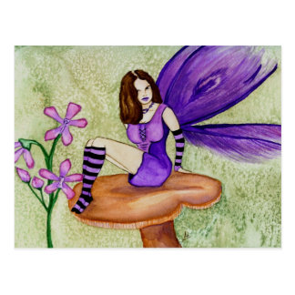 Orchid Fairy Postcard