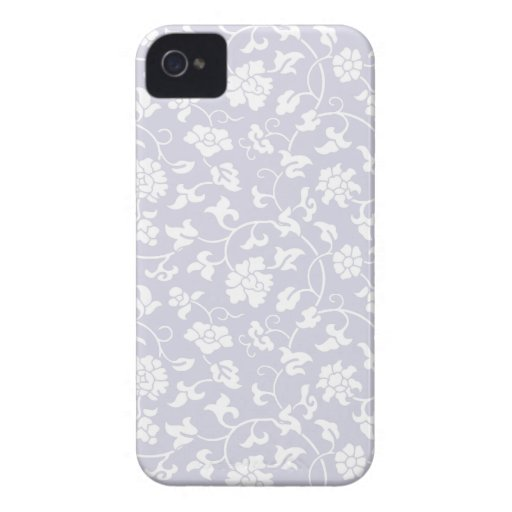 Orchid Floral Damask iPhone 4/4S Case iPhone 4 Case