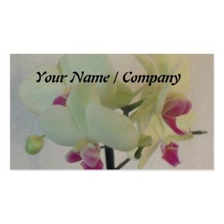 Orchid florist Business Card