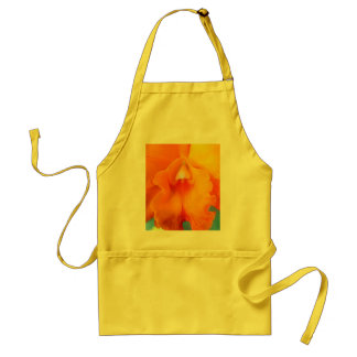 Orchid Flower Adult Apron