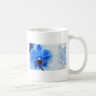 Orchid Flower Blue Love Peace Destiny Gift Classic White Coffee Mug