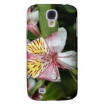 Orchid flower close up, pink white yellow photo galaxy s4 cases