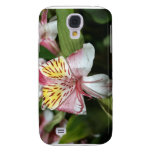 Orchid flower close up, pink white yellow photo galaxy s4 covers