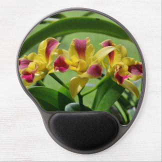 Orchid Flower Gel Mouse Pad