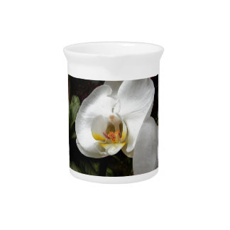Orchid Flower Drink Pitchers