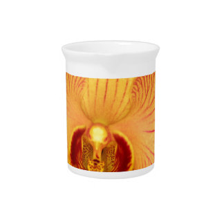 Orchid Flower Drink Pitcher