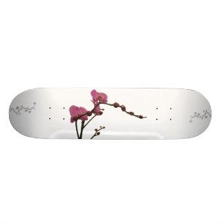 orchid flower romantic skateboard
