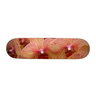 Orchid Flower Custom Skate Board