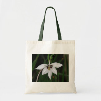 Orchid Flower Tote Bag