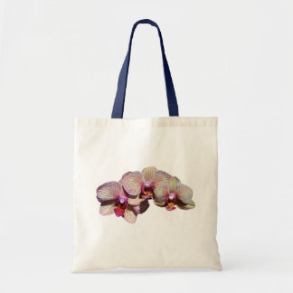 Orchid Flower Trio Tote Bag