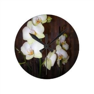 Orchidflowers Clocks
