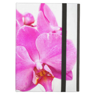 Orchid flowers closeup iPad air cover