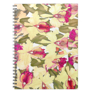 Orchid Flowers Floral Tropical Islands Notebook