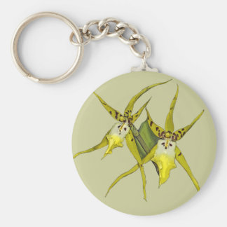 Orchid Flowers Key Chains