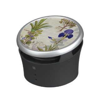 Orchid & Fumitory or Bleeding Heart Hedera & Iris Bluetooth Speaker