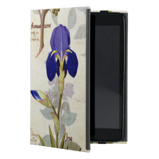 Orchid & Fumitory or Bleeding Heart Hedera & Iris Case For iPad Mini