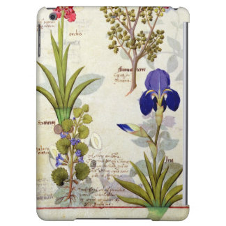 Orchid & Fumitory or Bleeding Heart Hedera & Iris iPad Air Cover
