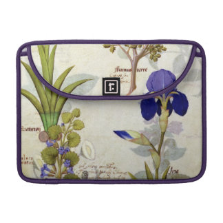 Orchid & Fumitory or Bleeding Heart Hedera & Iris Sleeve For MacBooks