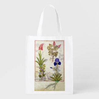Orchid & Fumitory or Bleeding Heart Hedera & Iris Reusable Grocery Bags