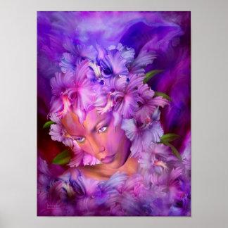 Orchid Goddess Fine Art Poster/Print