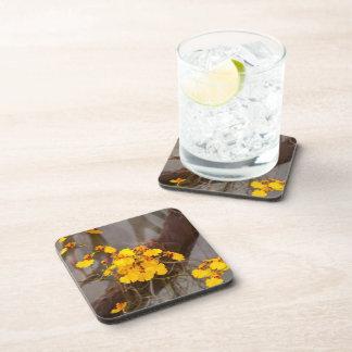 Orchid - Golden morning Beverage Coaster