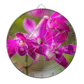 orchid in the garden dart board