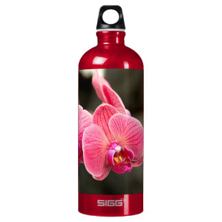 Orchid - It takes two to tango Aluminum Water Bottle