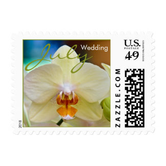 Orchid • July Wedding Stamp