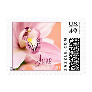 Orchid • June Wedding Stamp