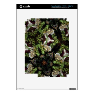 Orchid jungle decal for iPad 3