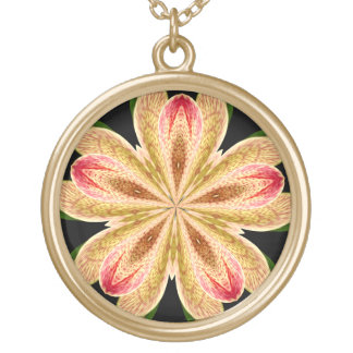 Orchid Kaleidoscope #1 Necklace