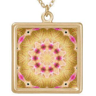Orchid Kaleidoscope #5 Necklace