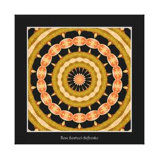 Orchid Kaleidoscope Canvas Print