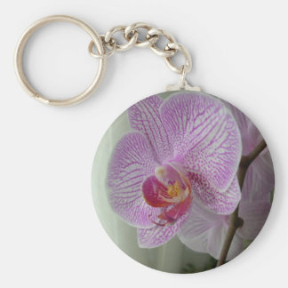Orchid Keychain