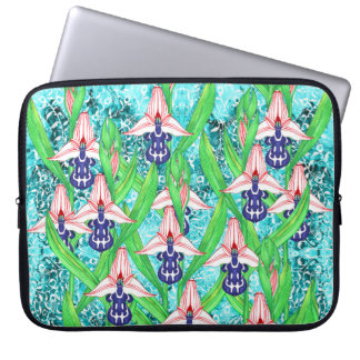 Orchid Laptop Sleeves