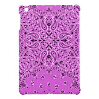Orchid Lilac Paisley Boho Hippie Bandana Scarf iPad Mini Cases