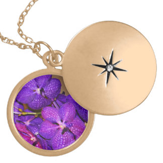Orchid Locket